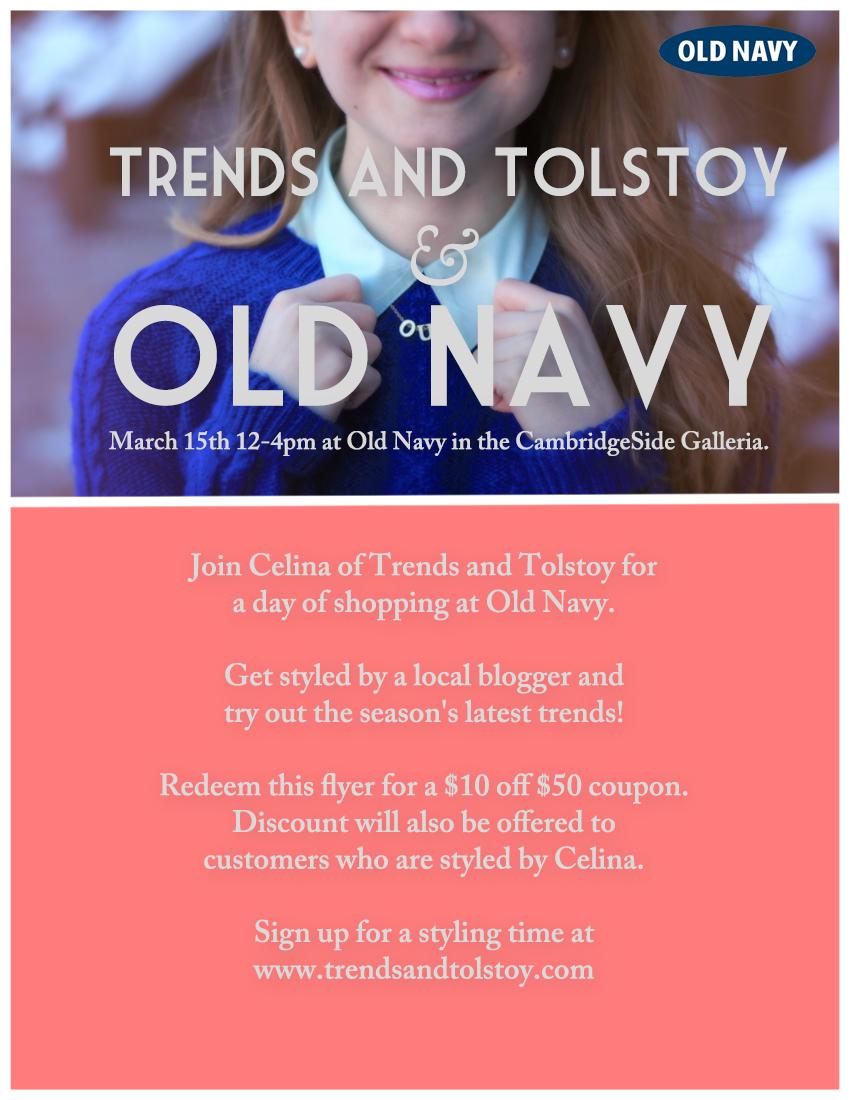 OldNavy Poster
